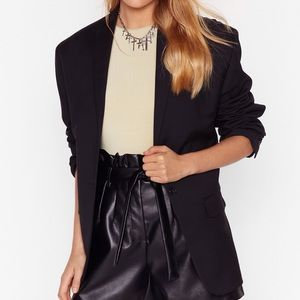 NastyGal Oversize Blazer